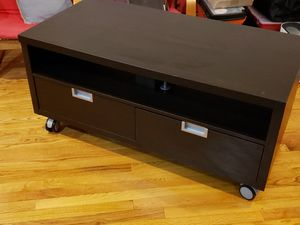 Used Ikea TV table or console with two drawers for Sale in Woodbridge, VA