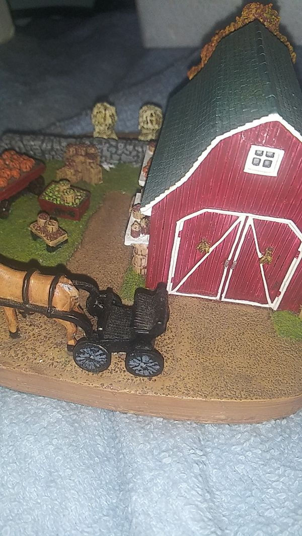 """The Danbury Mint collection, """"Amish Produce Stand"""""""