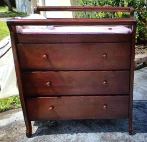 Diaper Changing Table with Drawers for Sale in Pinellas Park, FL
