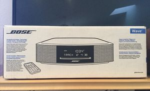 Bose Wave Music System IV CD - New in a Factory Sealed Box for Sale in Montclair, CA