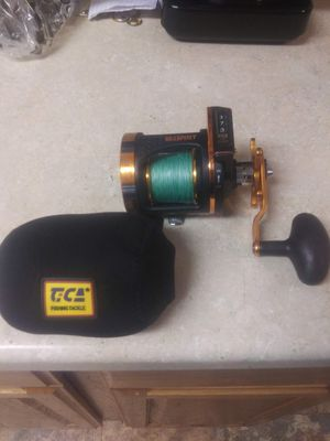 Seaspirit salt striker fishing reel model SA.248R. used 2 times with soft case works great for Sale in Lake Stevens, WA