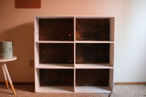 Stained back, White Shelves for Sale in Portland, OR