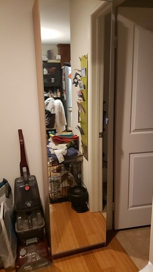 Small ikea pax closet with mirror for Sale in Pasadena, CA