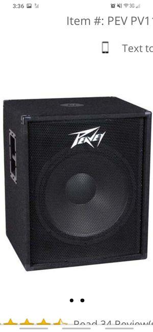 Peavey speaker for Sale in Lemoore, CA