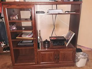 Entertainment center in good shape! for Sale in Wichita Falls, TX