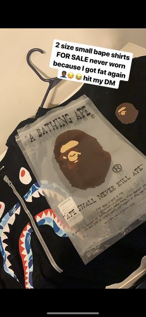 Bathing Ape Shirts size small for Sale in Bratenahl, OH