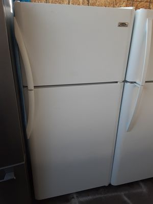 $199 Frigidaire white 18 cubic fridge includes delivery in the San Fernando Valley a warranty and installation for Sale in Los Angeles, CA