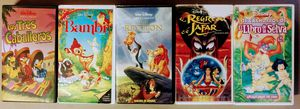 Disney Spanish Dub Original VHS Lion King Bambi And More for Sale in San Diego, CA