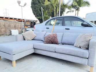 Sectional Sofa Couch Futon Free Delivery for Sale in Long Beach,  CA