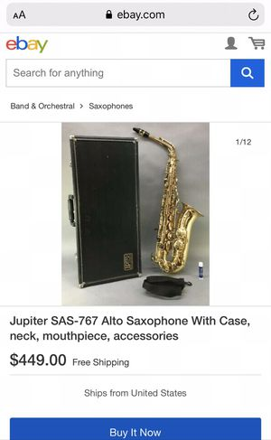 Alto Saxophone for Sale in Oakdale, CA