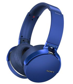 Sony - XB950B1 Extra Bass Wireless Over-the-Ear Headphones - Blue for Sale in NJ, US
