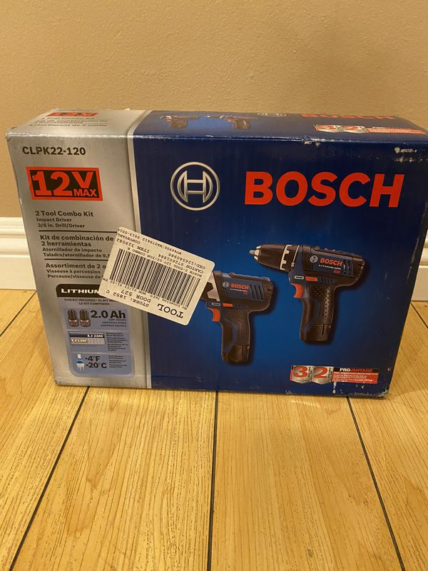 BRAND NEW! Bosch 2-tool combo kit with case