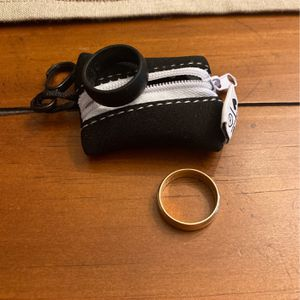 14k Gold Ring & Qalo rubber Ring Size 10 for Sale in Orchard Park, NY