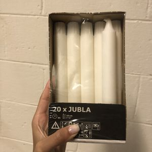 16 white candles for Sale in Silver Spring, MD
