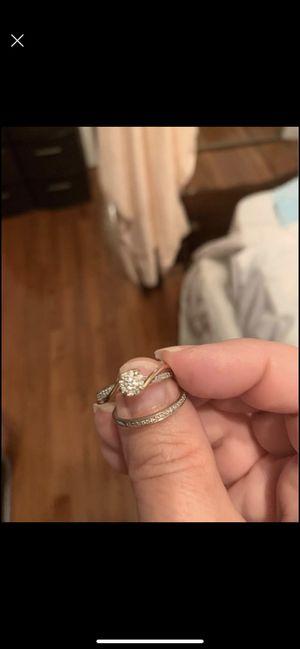 Wedding ring set 1/2 K for Sale in Dallas, GA