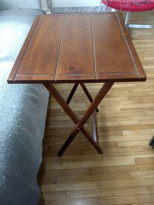 Wood folding table / Mesa plegable de madera for Sale in Coral Gables, FL