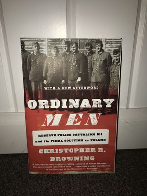 Ordinary Men - Reserve Police Battalion 101 and the Final Solution in Poland by Christoper R. Browning for Sale in Hillsdale, NJ