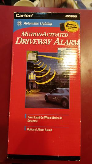 CARLON MOTION ACTIVATED DRIVEWAY DOOR ALARM SYSTEM WORKS for Sale in Rochester, MN