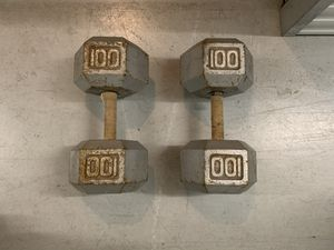 Cast Iron Dumbbells for Sale in Sugar Land, TX
