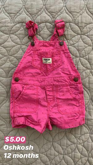 Oshkosh Baby Overalls for Sale in Seattle, WA
