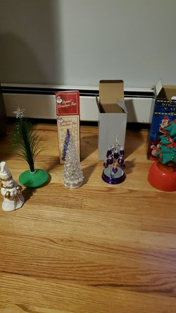 Christmas Lot of decorations and candles for Sale in Annandale,  VA