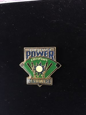 1992 The Seattle Power Company Mariners Pin in Case for Sale in Everett, WA