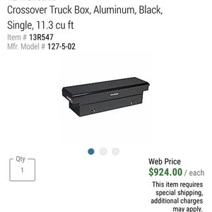 Truck Box Tool Box for Sale in Western Springs, IL