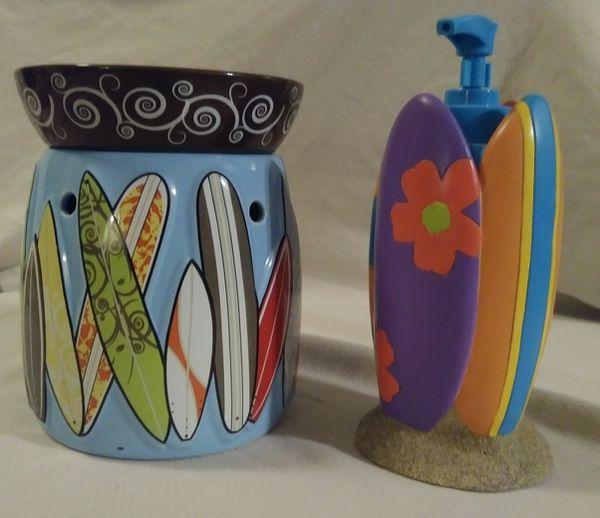 Scentsy Surfs Up Warmer & Soap Dispenser