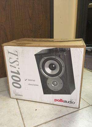 POLK AUDIO TSi100 bookshelf speakers for Sale in Houston, TX