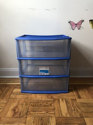 Plastic drawers for Sale in The Bronx, NY