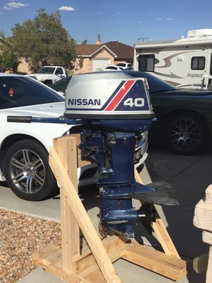 40 hp Nissan Outboard for Sale in Rio Rancho, NM