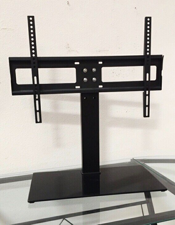New in box Universal fits 30 to 60 inch tv television stand replacement 120 lbs capacity dresser table tv stand tv mount includes hardware and screws
