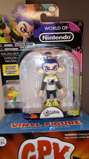 World of Nintendo inkling boy error figure for Sale in Chandler, AZ