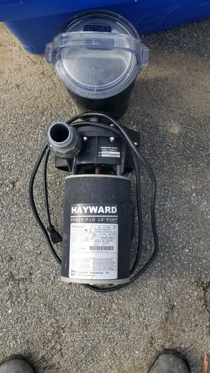 Hayward 1.5hp pool pump for Sale in Noblestown, PA