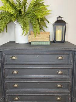 Dark Grey Dresser / File Cabinet for Sale in Tualatin,  OR
