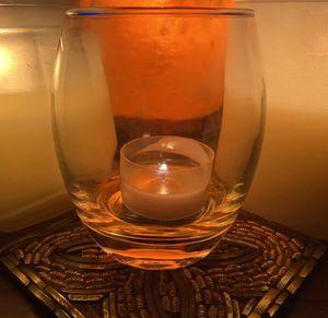 Fantastic Hurricane Votive Candle holder/Glasses Set for Sale in Hollywood, FL