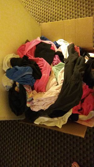 Box full of clothing. FREE! for Sale in Modesto, CA