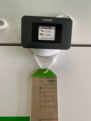 Cricket Mobile hotspot for Sale in Amarillo, TX