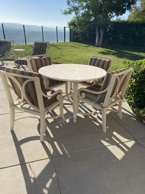 Outdoor table chairs for Sale in Rancho Santa Margarita, CA