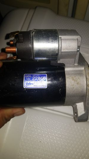 Starter motor for 2009 Hyundai accent for Sale in Corona, CA