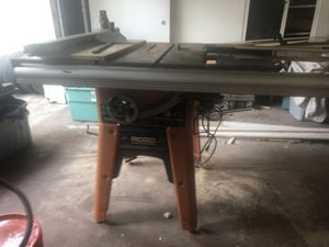 Rigid table saw ts3650 for Sale in Lutz, FL