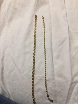 14k gold bracelet for Sale in Carrollton, TX