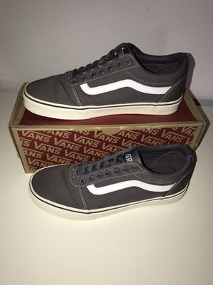 GRAY VANS SHOES for Sale in Aurora, CO