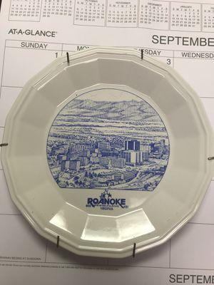 Roanoke plate for Sale in Rocky Mount, VA