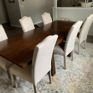 Dining Table Set 7 Piece for Sale in Wake Forest, NC