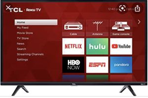 TCL ROKU SMART TV 49' Brand New, 1 yr old in Box for Sale in Grand Rapids, MI