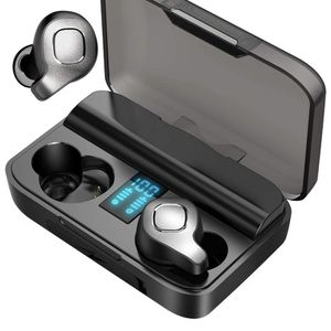 Wireless Bluetooth Earbuds, Active Noise Cancelling Earphones with True Wireless,ANC in-Ear Earphones with Digital Charging Case for Running/Driving/C for Sale in Brooklyn, NY