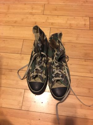 Converse Chuck Taylor's Army Camo Size 13 for Sale in Philadelphia, PA