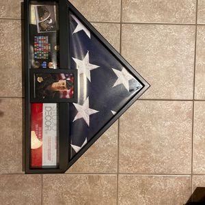 Flag And Memorabilia Case for Sale in Atlanta, GA