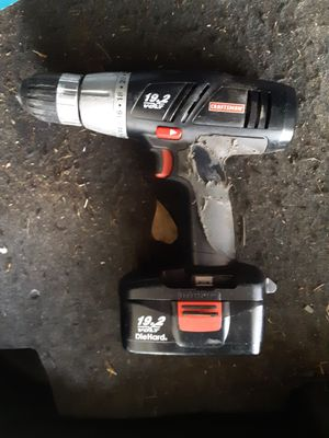 Craftman 19.2 Volt Drill and Battery for Sale in Saraland, AL